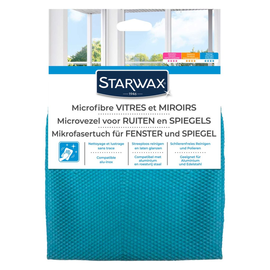 Microfibre spéciale vitres X1 Starwax