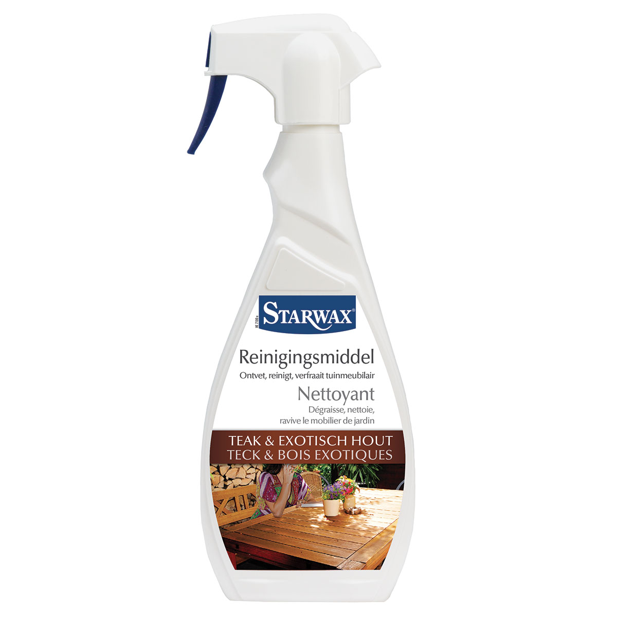 Nettoyant teck et bois exotique | Starwax, entretien maison