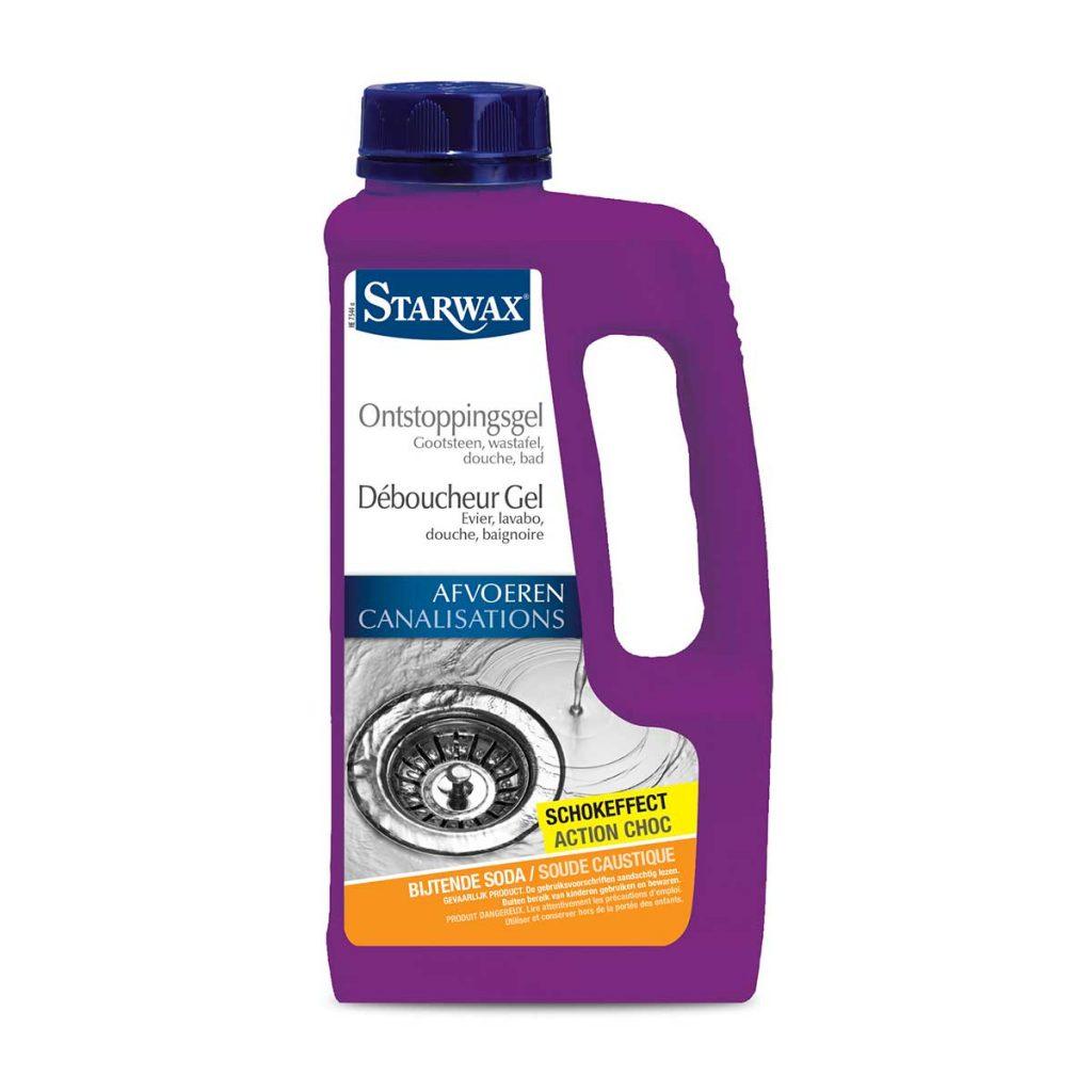 Déboucheur gel pour évier, lavabo, douche ou baignoire – Starwax