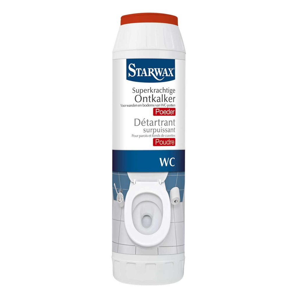 Détartrant surpuissant poudre pour WC – Starwax