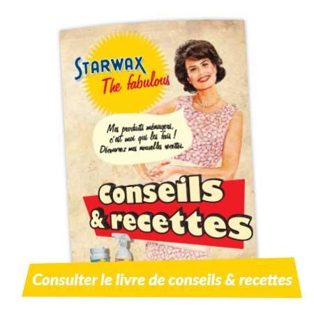 Livret de conseils et recettes Starwax The fabulous