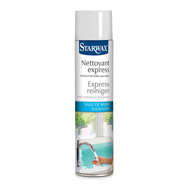 Nettoyant express starwax entretien maison for Nettoyant salle de bain maison
